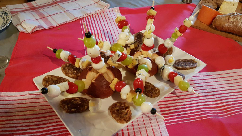 BROCHETTE COCKTAIL de FROMAGE