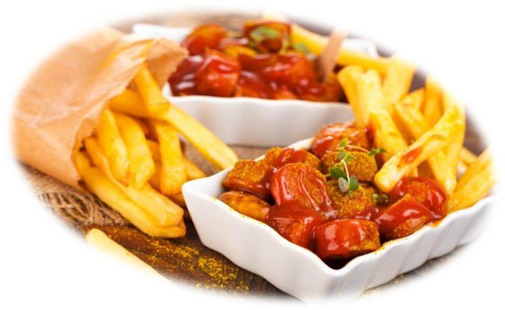 CURRYWURST + FRITES