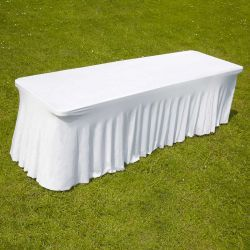 TABLE RECTANGULAIRE PVC + HOUSE