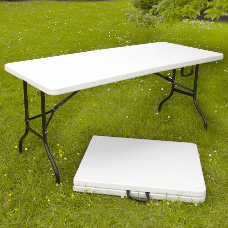 TABLE RECTANGULAIRE PVC